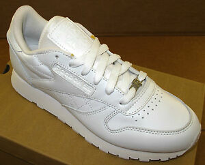 reebok women's classic leather casual shoes v45249 white