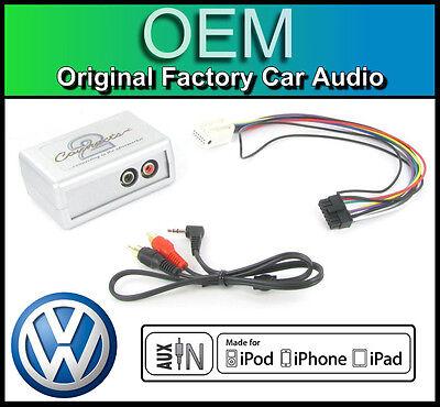 VW Bora AUX input adapter /& radio removal keys PC5-133 iPod iPhone MP3 CTVVGX001