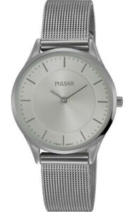 Pulsar-Women-039-s-Prime-Analog-Quartz-Stainless-Steel-Mesh-Watch-PTA521