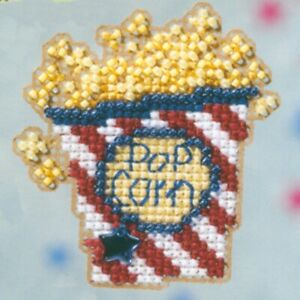 Dream Beaded Cross Stitch Ornament Kit Mill Hill 2008 Spring Bouquet
