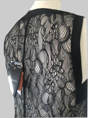 Givenchy Abito In Taglia Da Ultimo francese 38 Pizzo White Donna Black qTEgCTw