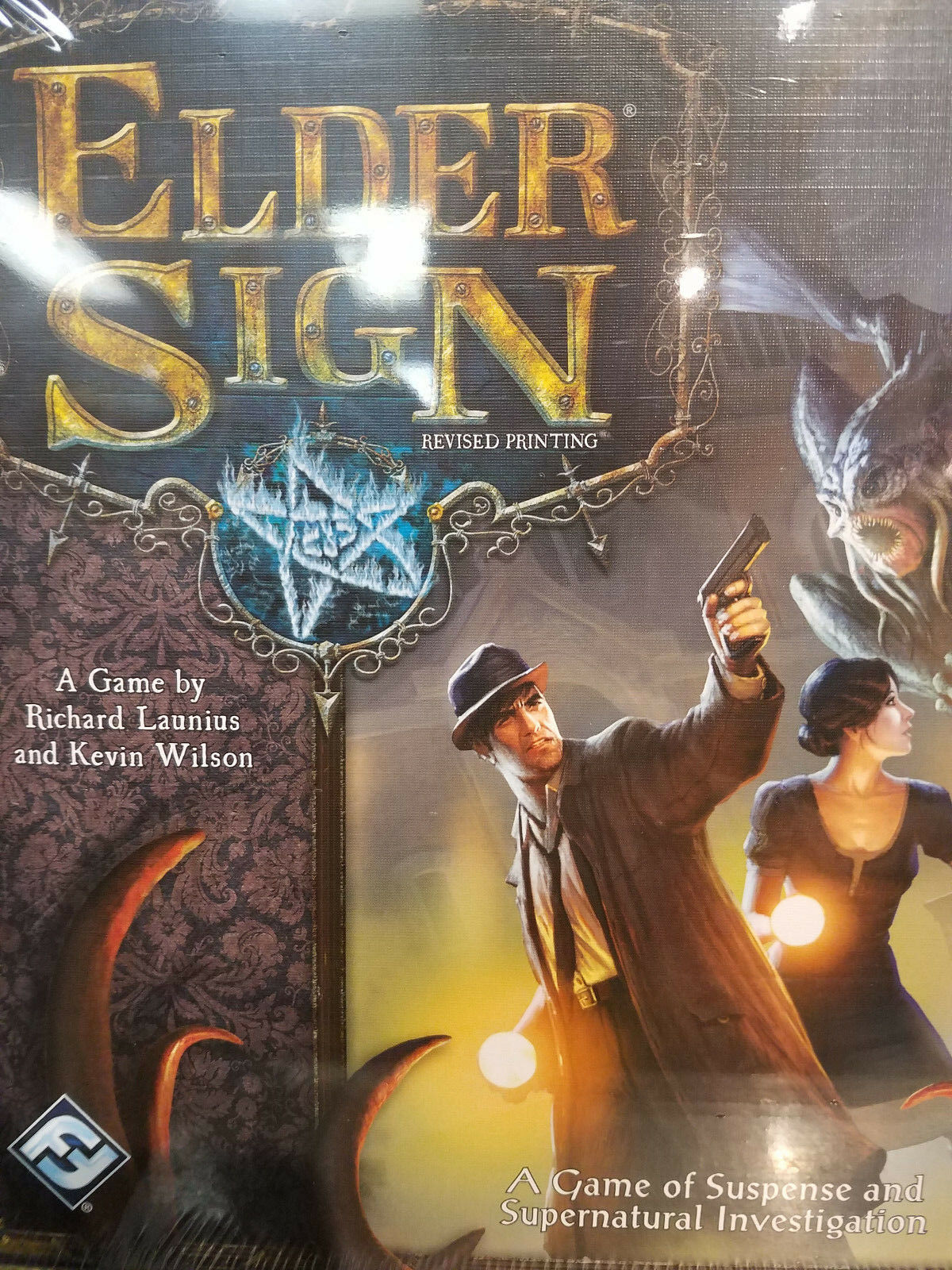 Elder Sign Revised Core Set - Board Game Awesome Games New
