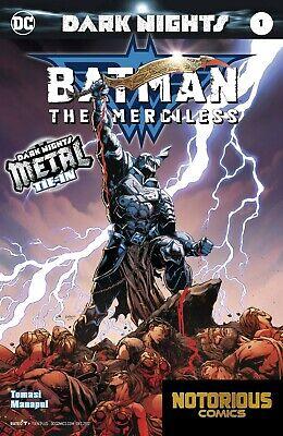 Dark Nights Metal Batman Lost #1 DC Comics 1st Print EXCELSIOR BIN