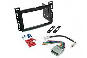 Scosche gm b double din dash kit for radio stereo install w