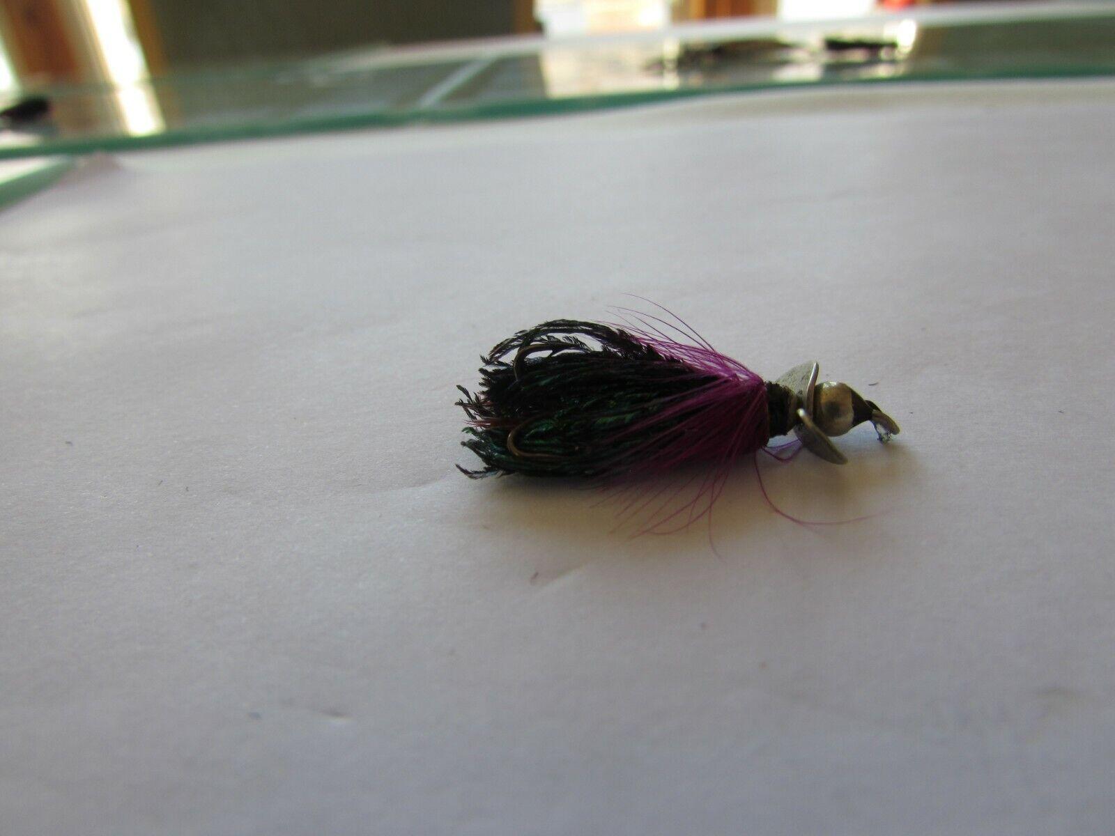 RARE Vintage primi Hardy Alnwick Halcyon esca da pesca esca Taglia 1.