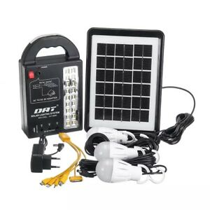 portable-solar-power-station-LED-Light-Kit-Generator-Emergency-battery-bank