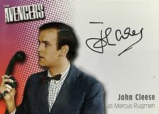 JOHN CLEESE Signed Trading Card Photo The Avengers Monty Python Autographed A5