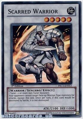 PRC1-EN013 Scarred Warrior Super Rare 1st Edition Mint YuGiOh Card