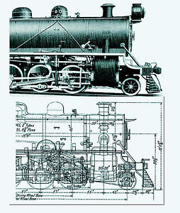 Details about 1915 American Locomotive Company catalog plans drawings