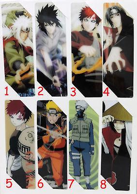 #LES009 - Naruto Shippuuden - Lesezeichen - Bookmark - Auswahl aus 8 Motiven