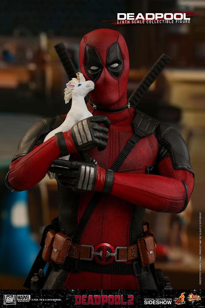 Deadpool 2  Deadpool figura sexta escala   MMS490  Hot Juguetes  Sideshow  Sin Usar, En Caja