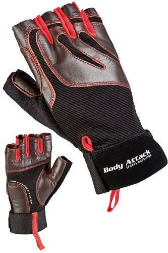 ( 29,99€ / Pair) Body Attack Sports Nutrition Training Gloves Deluxe