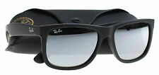 New Ray-Ban Sunglasses Men  RB 4165 Black 622/6G JUSTIN 55mm