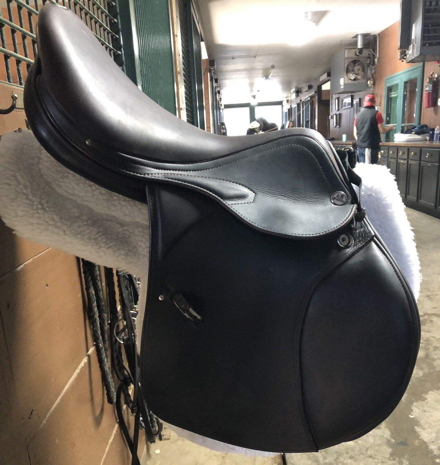 Prestige X-Meredith Tobacco Brown 17  Close Contact  English Jumping Saddle  big discount