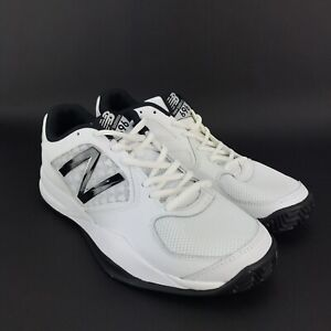 pretty nice 1db98 bce9f Details about New Balance Mens 696 White Blue Tennis Shoes Size 8.5 D