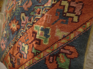 16-034-Oriental-Tribal-Style-Antique-Hand-Crafted-Needlepoint-Throw-Pillow-Cushion