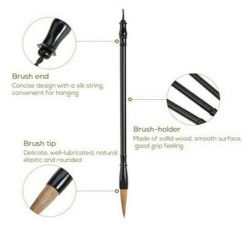 3 pcs//sizes Calligraphy Brush Set
