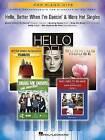 Pop Piano Hits Hello Better When I'm Dancin' & More Hot Singles Pf Bk by Hal Leonard Corporation (Paperback, 2016)