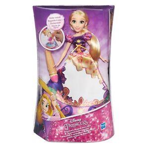 Disney Poupée Raiponce Robe Magique Hasbro Flynn Baguette Neuve