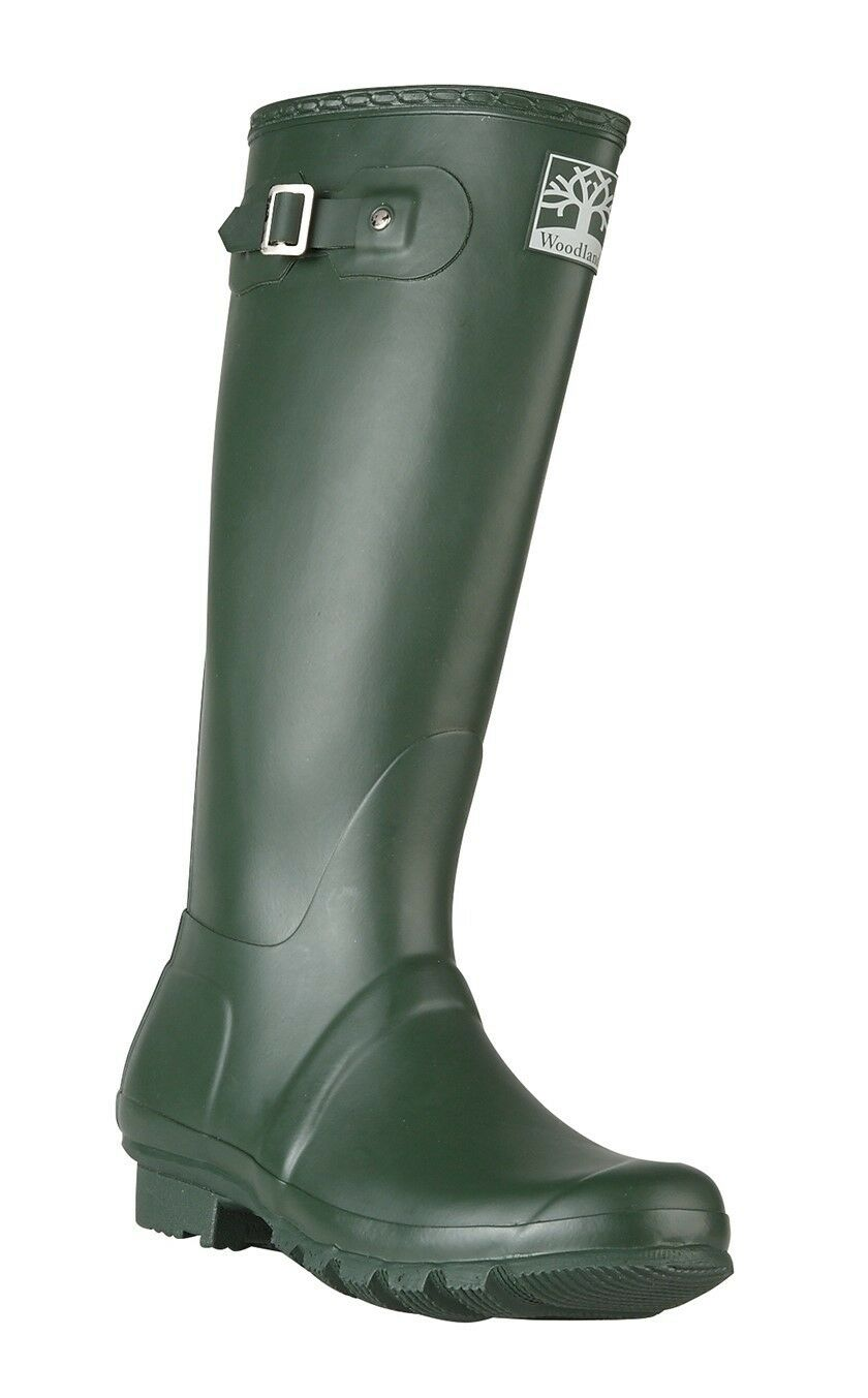 Woodland W259 Regular raccordo di alta qualità Stivali in Gomma Verde