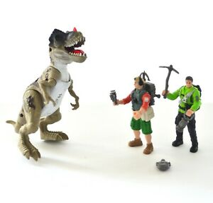 CHAP-MEI-dinosaure-vallee-RARE-Dinosaure-Playset-x3-Figure-tyranossaurus-Bebe-T-Rex