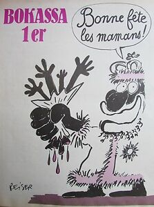 Charlie-View-No-445-of-May-1979-Reiser-Bokassa-1er-Bonne-Fete-the-Mums