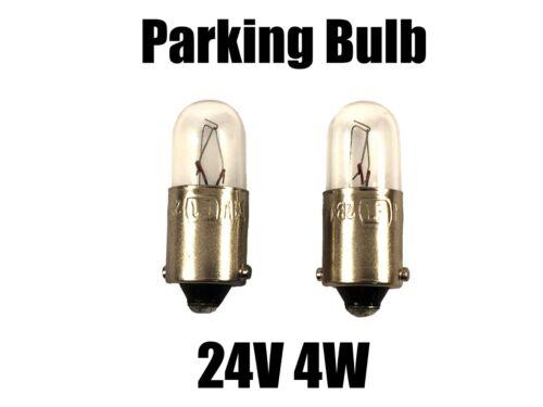 New NARVA 24V 4W Parking Bulb 53 Single Socket 17141