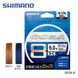 2019 NEW Shimano Ocea 8 PE Line 500m