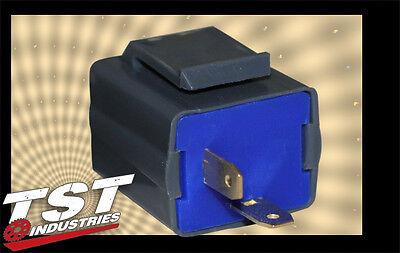 ZX6R ZX10R 600RR 1000RR R6 R1 F4i GSXR FZ6R 2 Pin LED Flasher Relay for Honda Kawasaki Yamaha Suzuki Gen 2