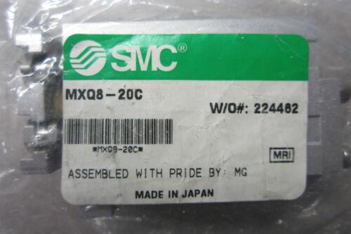 NEW SMC  MXQ8-20C SLIDE TABLE CYLINDER MXQ820C