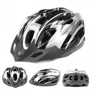 Mens-Adult-MTB-Bike-Bicycle-Road-Cycling-18-Holes-Safety-Helmet-With-Visor-NL