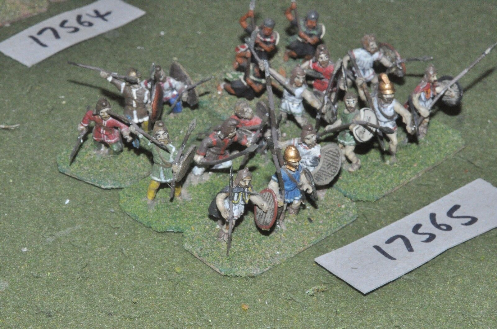 25mm classical   thracian - warriors 18 figs - inf (17565)