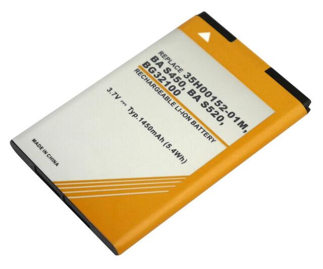 Powersmart 1450mAh Batterie pour HTC Ba S450, Ba S580, BH11100