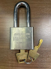 American Lock A5461 Silver Stainless Padlock 2 Shackle