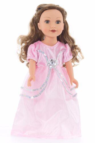 Doll Dress Royal Pink Princess