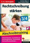 Rechtschreibung stärken 3/4 von Gerlinde Maier (2015, Taschenbuch)