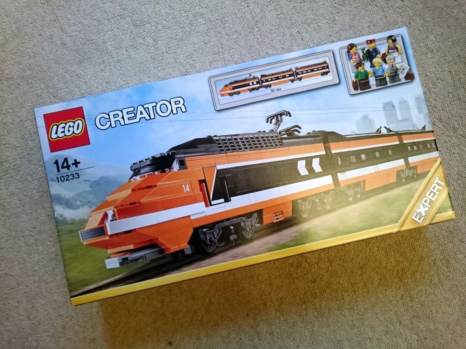 LEGO Train Creator Horizon Express 10233 little box damage unopened unused tgv