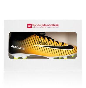 7856bc799b7ab Dettagli su Philippe Coutinho FIRMATO FOOTBALL BOOT Arancione Nike  Mercurial-Scatola Regalo- mostra il titolo originale