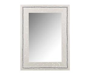Espejo-De-Pared-Con-Marco-De-Cristales-Blanco-Y-Negro-elaboracion-artesanal