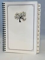 Large Print Password Book Internet Website Organizer A-z Tabs Personalized Gift
