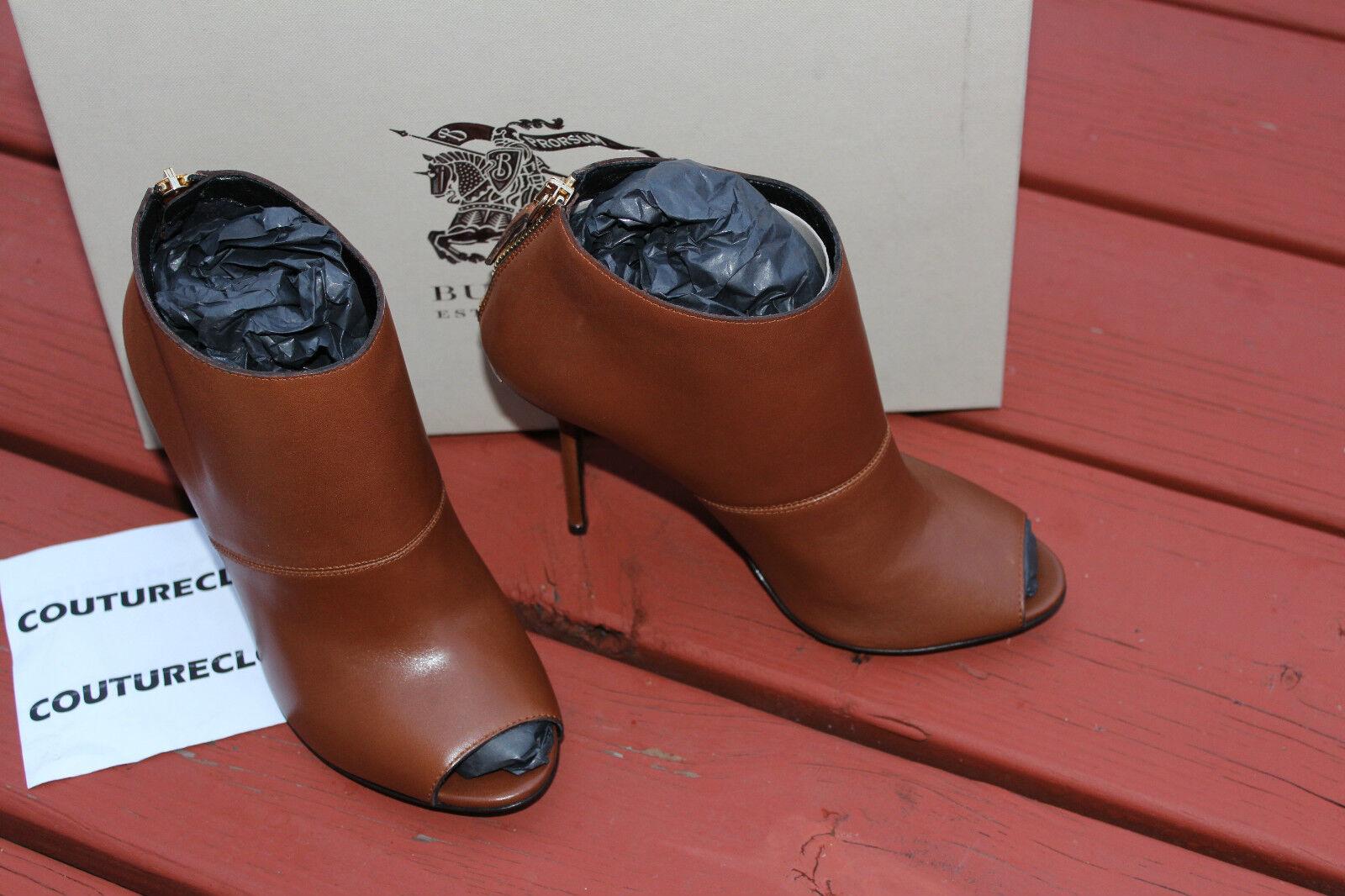BURBERRY CALLUM Stiefel Stiefel Stiefel CHESTNUT braun  7us  750 8a623c