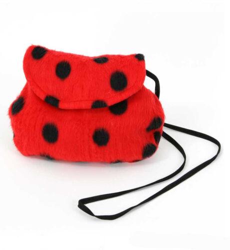 Plüschtasche Marienkäfer Ladybug Karneval Tierisch Accessoire wildnis 124569013