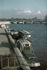 Farb-Dia-Bordeaux-Aquitanien-France-agfacolor-1940-Atlantikküste-hafen-brücke-6