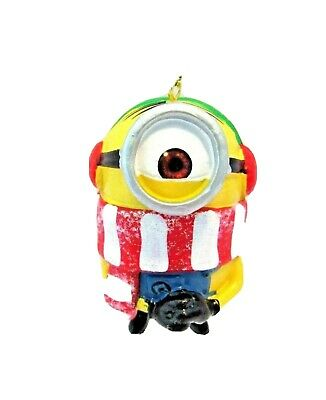 Minion Christmas Ornament Stuart With Scarf Despicable Me ...