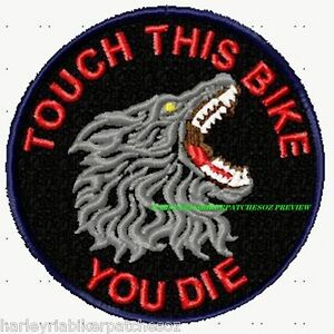TOUCH-THIS-BIKE-PET-BIKER-PATCH