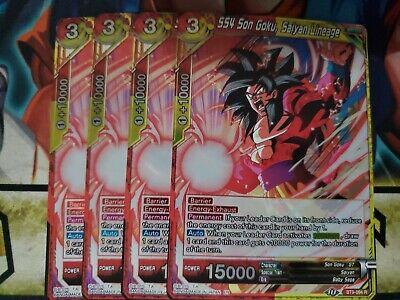 2x Ribrianne Massive Love BT9-122 R Dragon Ball Super TCG NEAR MINT