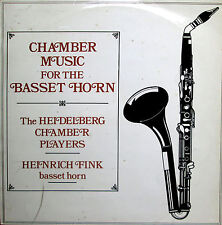 Chamber Music For The Basset Horn Heinrich Fink - ORYX 1809 Stereo