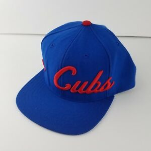 0c222e47398 Image is loading American-Needle-1918-Chicago-Cubs-Cooperstown-Collection -Snapback-