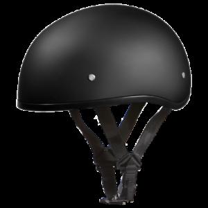 Daytona Helmet SKULL CAP W//O VISOR DULL BLACK