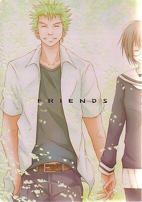 "ONE PIECE Doujinshi "" FRIENDS "" Zoro Tashigi Kuina"